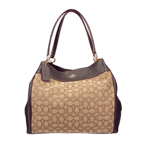 Coach Outline Signature Lexy Shoulder Bag