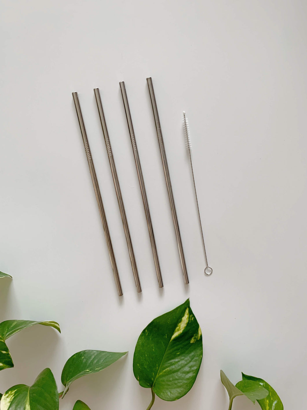 8 inch Steel Straws Straight