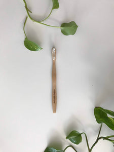 Brush With Bamboo Toothbrush