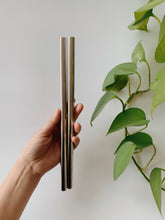 Load image into Gallery viewer, Stainless-Steel Boba Straws