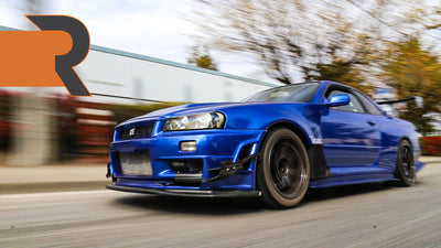 He Evacuated His 900HP Skyline R34 GTR From Japan During The Pandemic!