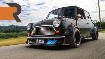 This Custom Mid-Engine Mini Revs to 13,000 RPM! | Outrunning Sanity