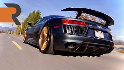 This Tuned Audi R8 V10+ Might Be The Perfect Modern Supercar | Piercing Titanium