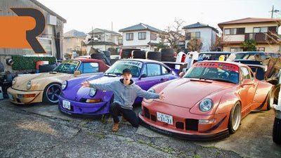 This is Where Rauh-Welt Begriff 911s Are Born in Japan! | RWB Porsche HQ Tour