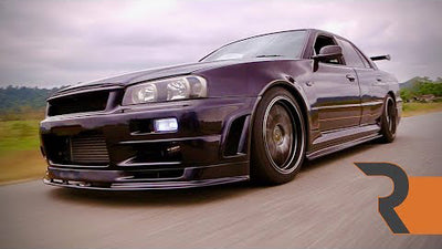 Big Turbo Nissan R34 V8 Swap | The Most Hated Skyline on the Planet.