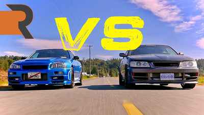 Nissan Skyline R34 GT-T vs. Modified Laurel Club S | RB25DET JDM Battle!