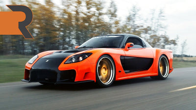 Han's Single Turbo Veilside RX-7 | Built In True Tokyo Drift Style!