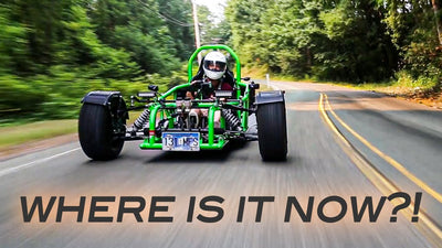 Where is the AMT3 Custom Ninja Trike Now?! | Catching Up With AMT Machine Shop