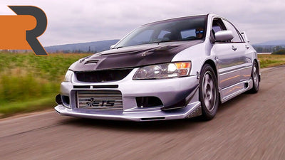 "The 800HP Evo 8 That'll Probably Get You Arrested. | ""Project Abandoned Evo"""