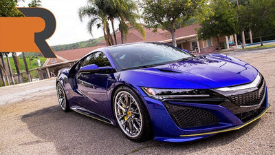 "The Modified Blue Pearl 2017 Acura NSX on iLIFT Air Suspension | ""HI OFFICER!"""