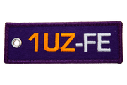 1UZ-FE Engine Code Jet Tag