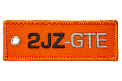 """NEW DESIGN"" 2JZ-GTE Engine Code Jet Tag"