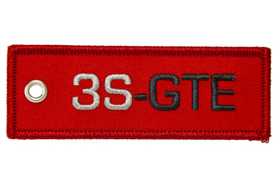 """NEW DESIGN"" 3S-GTE Engine Code Jet Tag"