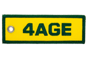 4AGE Engine Code Jet Tag
