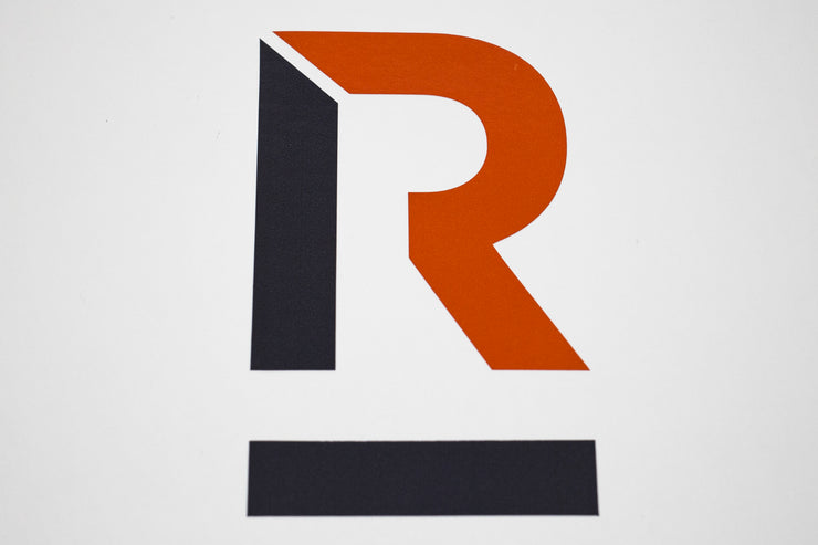 "Roads Untraveled ""R"" Logo Decal"