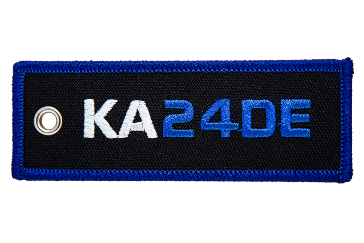 KA24DE Engine Code Jet Tag