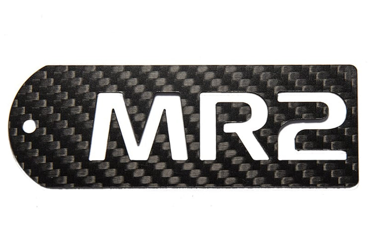 MR2 Carbon Fiber Tag