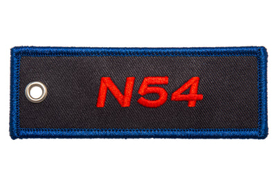 N54 Engine Code Jet Tag