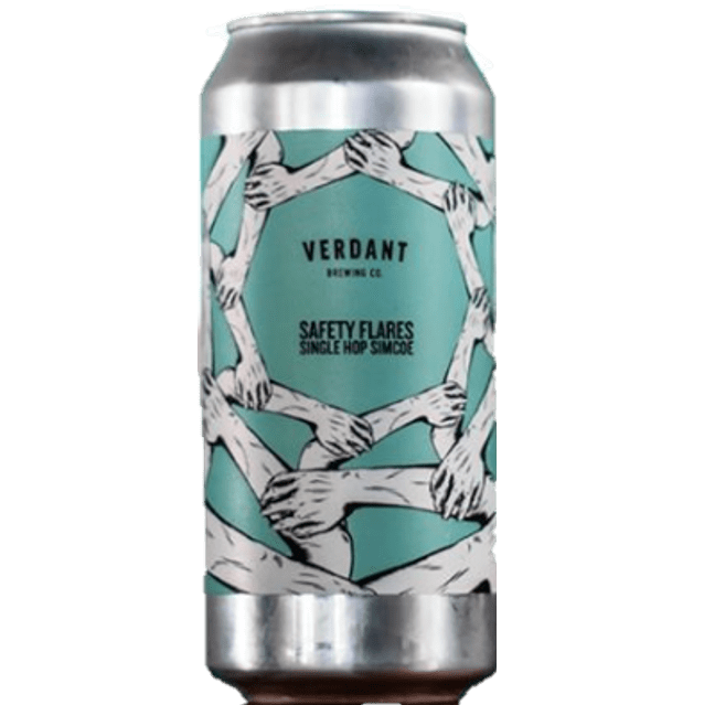 2 can limit - Verdant Safety Flares Single Hop Simcoe Pale 440ml (5.2%)