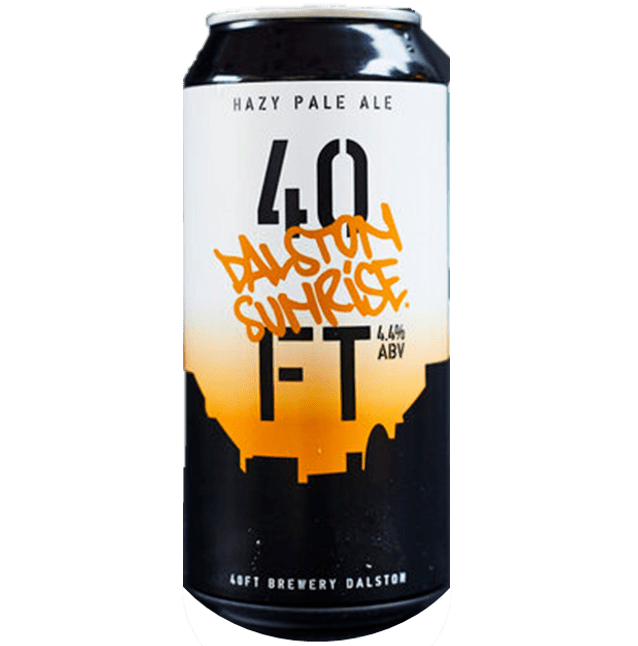 40ft Brewery 44 Dalston Sunrise Hazy Pale 440ml (4.4%)