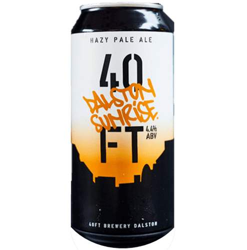 40ft Brewery 44 Dalston Sunrise Hazy Pale 440ml (4.4%) - indiebeer