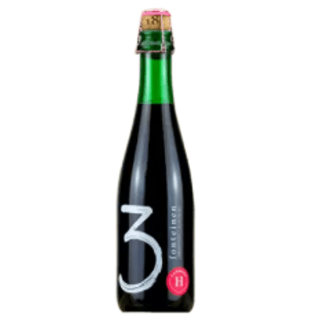3 Fonteinen Hommage Bio 2018 (Lambic w/ Organic Raspberries and Sour Cherries) 375ml (6.3%)