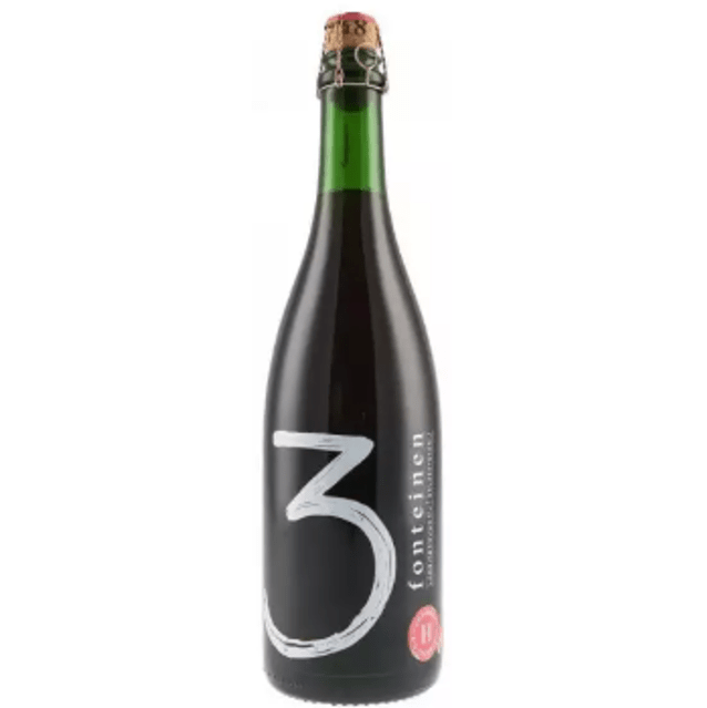 3 Fonteinen Hommage Bio (Lambic w/ Organic Raspberries and Sour Cherries) 750ml (6%) - 1 bottle limit