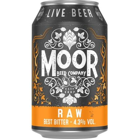 Moor RAW Best Bitter 330ml (4.3%) - indiebeer