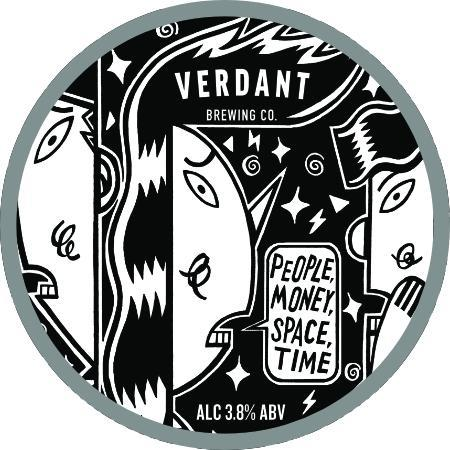 Verdant People Money Space Time Pale Ale 440ml (3.8%) - indiebeer