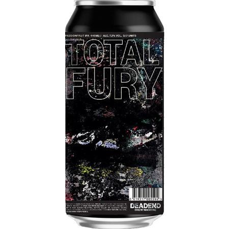 Dead End Brew Machine Total Fury IPA 440ml (7.2%) - indiebeer