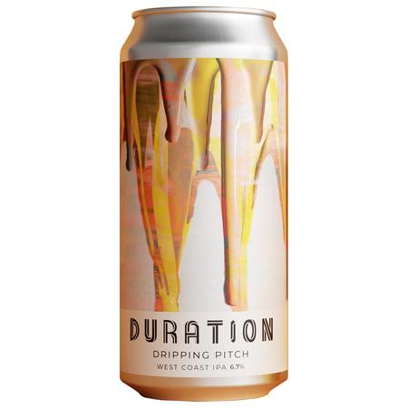 Duration Dripping Pitch West Coast IPA 440ml (6.7%) - indiebeer