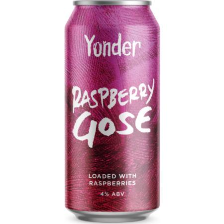 Yonder Brewing Raspberry Gose 440ml (4%) - indiebeer