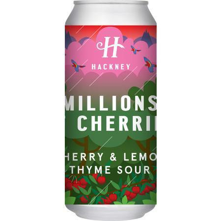 Hackney Brewery Millions of Cherries Sour 440ml (4.5%) (Dec 2020 re-brew)