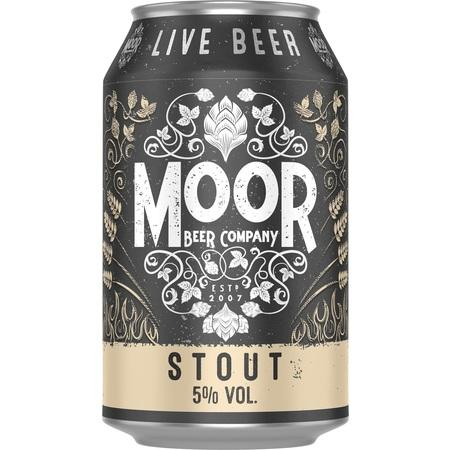 Moor Stout 330ml (5%)