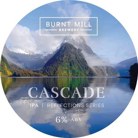 Burnt Mill Reflection Series w/Cascade IPA 440ml (6.2%)