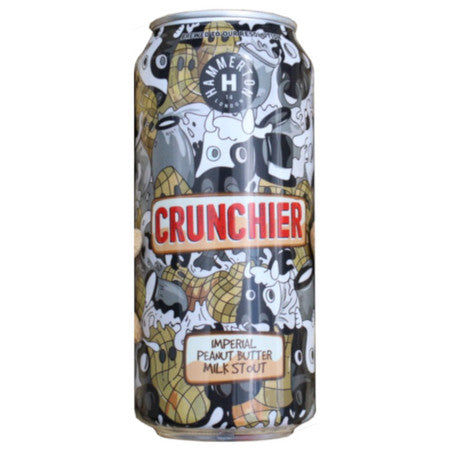 Hammerton Crunchier 2020 Imperial Chocolate Peanut Butter Milk Stout 440ml (9.1%)
