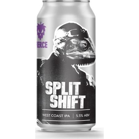 Fierce Split Shift Gluten Free IPA 440ml (5.5%)