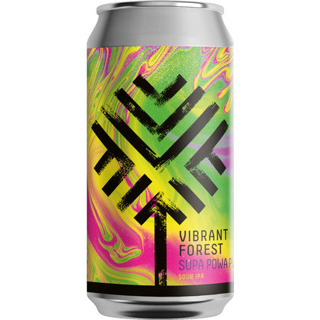 Vibrant Forest Super Powa Pupa Sour IPA 440ml (7%)