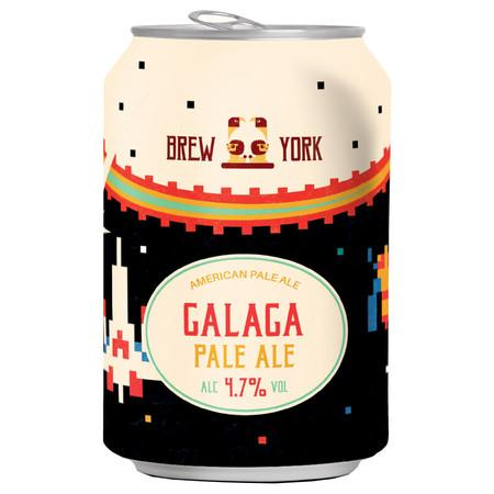 Brew York Galaga American Pale 440ml (4.7%)