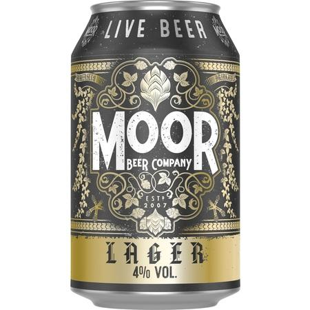 Moor Lager 330ml (4%)