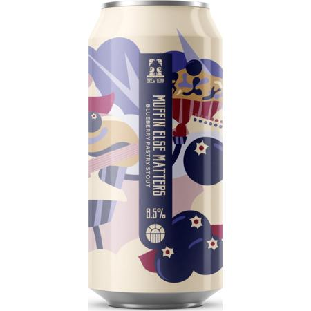 Brew York Muffin Else Matters Blueberry Pastry Stout 440ml (8.5%) - indiebeer