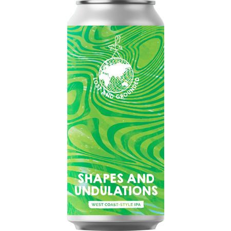 Lost & Grounded Shapes & Undulations West Coast IPA 440ml (6.5%) - indiebeer
