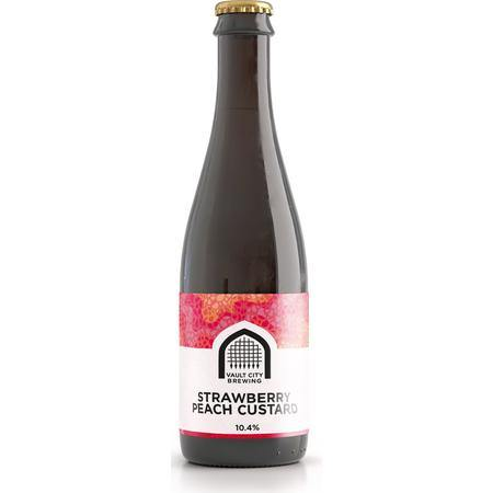 Vault City Strawberry Peach Custard Sour 375ml (10.4%)
