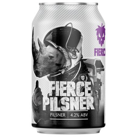 Fierce Gluten Free Pilsner 440ml (4.2%)