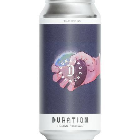 Duration x Donzoko Collab - Human Interface Heller Bock Lager 440ml (6.2%)