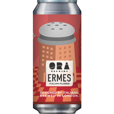 ORA Brewing ERMES Italian Pilsner 440ml (4.7%)
