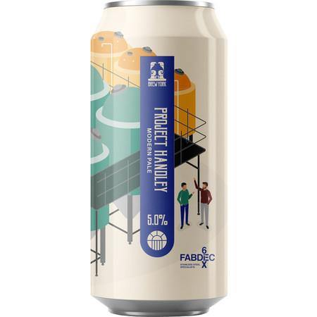 Brew York Project Handley Modern Pale 440ml (5%) - indiebeer