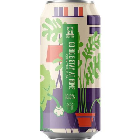 Brew York Go Big & Stay Home TIPA 440ml (10.5%)