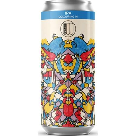 Mondo Brewing Colouring In IPA 440ml (6.2%) - indiebeer