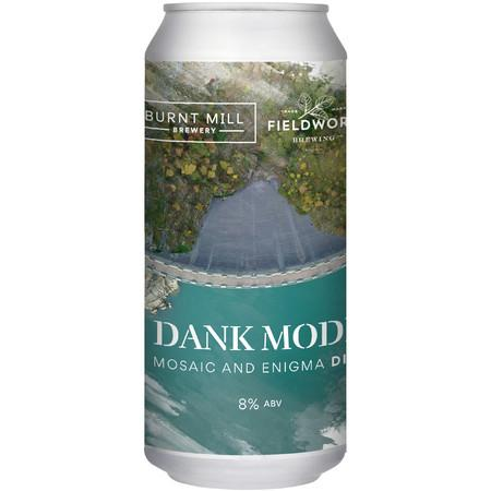 Burnt Mill x Fieldwork Brewing Co Collab Dank Mode IPA 440ml (8%) - indiebeer